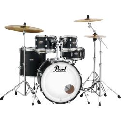 Pearl DMP925F/C262 Drum Set Satin Black Burst