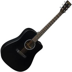 Martin Guitars DCXAE Black Westerngitarre