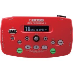 Boss VE-5 Vocal Performer Red