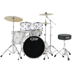 PDP by DW Drum-Set Mainstage Gloss White