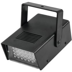 EUROLITE LED Disco Strobe weiß, Sound