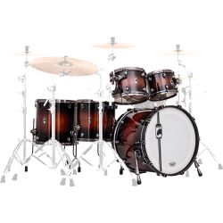 Mapex Black Panther Shell Set Blaster transparent Wallnuss