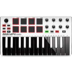 Akai MPK mini MK2 Weiß Ltd. Edition B-Ware