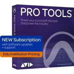 Avid Pro Tools Jahreslizenz EDU Institute