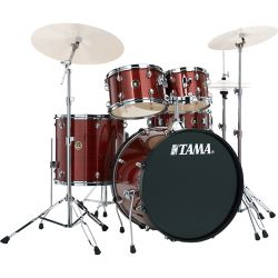 TAMA RM50YH6-RDS Rhythm Mate Red Stream 20'' Bass Drum Kit