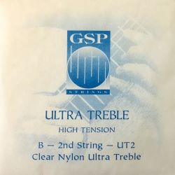 GSP Ultra Treble High Tension Einzelsaite B2