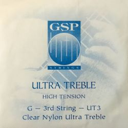 GSP Ultra Treble High Tension Einzelsaite G3