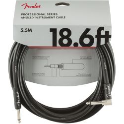 Fender Professional Instrumenten Cable Straight/Angle 18.6 5,5m