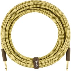 Fender Deluxe Serie Instrument Cable 3m Tweed