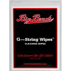 Big Bends String Wipes 50 pcs. Reinigungstücher f. Gitarresaiten