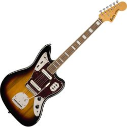 Fender Squier CV 70s Jaguar LRL 3-Color Sunburst E-Gitarre