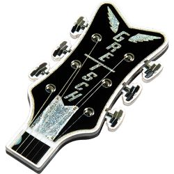 Gretsch Headstock 3D Fridge Magnet