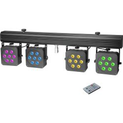 Cameo Multi PAR 3 Kompaktes 28x8 W QUAD Colour LED Set B-Ware