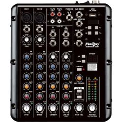 Madboy Blender-422U Karaoke/Audio-Mixer & USB-Player