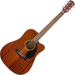 Fender CD-60SCE All-Mahogany Westerngitarre
