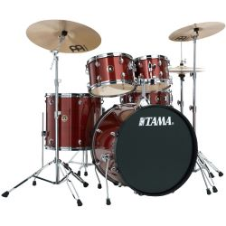 TAMA RM52KH6-RDS Rhythm Mate Red Stream 22'' Bass Drum Kit