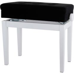 Gewa Pianobank Deluxe Compartment Weiss matt B-Ware
