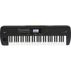 Korg i3 Workstation Schwarz B-Ware