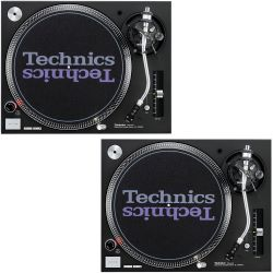 Vermietung - 2x Technics SL-1210 MK5 Turntable ohne System - SET./Tag