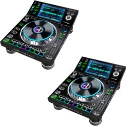 Vermietung - 2x Denon SC5000 PRIME DJ Media Player - SET/Tag