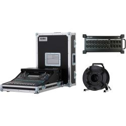 Vermietung - Allen & Heath SQ5, DX 168, CAT 5 Kabel - SET./Tag -