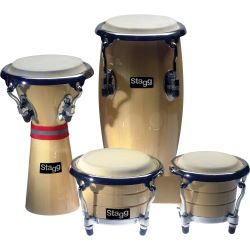 STAGG Mini Latin + African Percussion Set