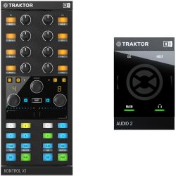 Native Instruments Traktor Kontrol X1 MK2 + Audio 2