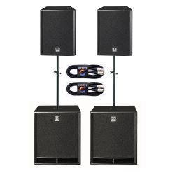 HK Audio Premium PA PR O 15A 18A Set