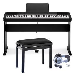 Casio CDP-130 BK E-Piano Komplett Set