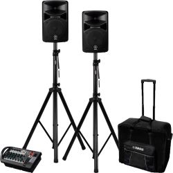 Yamaha Stagepas 400i + Stativ + Trolley Set