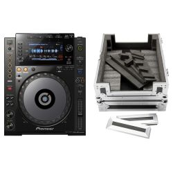 Pioneer CDJ 900 NXS + DJ CD Player Case