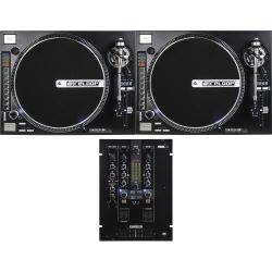 Reloop RP-8000 Straight + RMX 22i Turntable DJ Set
