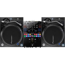 Pioneer 2x PLX-1000 Turntable + DJM-S9 DJ Set