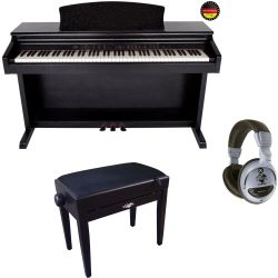 GEWA Digitalpiano DP-160G Schwarz Set