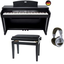GEWA Digitalpiano DP-180G Schwarz Set