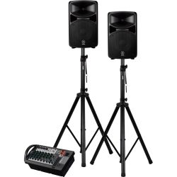 Yamaha Stagepas 600i + Stative Set
