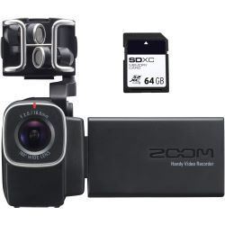 Zoom Q8 + 64 GB SD XC Card