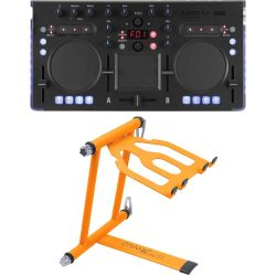 Korg Kaoss DJ + Crane CV-3 Laptop Stand Set