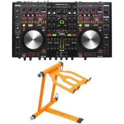 Denon MC 6000 MK2 + Crane CV-3 Laptop Stand Set