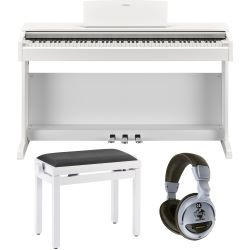 Yamaha YDP-143 WH White Digitalpiano Set