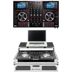 Numark NV II DJ Controller + Workstation Case
