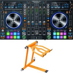 Denon MC 7000 + Crane CV-3 Laptop Stand