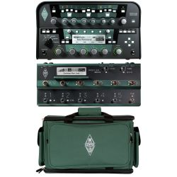 Kemper Profiler Head Schwarz + Profiler Remote + Bag Set
