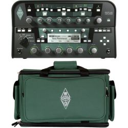 Kemper Profiling Amplifier Head BK Schwarz + Bag Set
