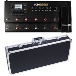 Line6 POD HD-500 X + Case Set