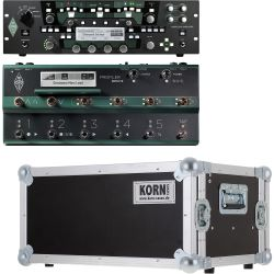 Kemper Profiler Rack + Profiler Remote Set + Case Set
