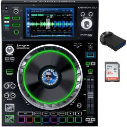 Denon SC5000 PRIME + 64GB USB Stick + 32GB SD Card