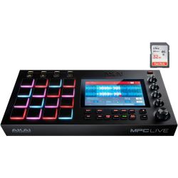 Akai MPC Live + 32GB SD Card
