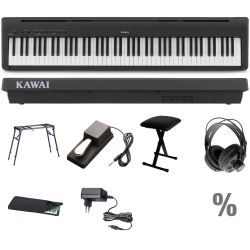 Kawai ES110 B Stage Piano T Set + KB + KT + SP + KA + KH + NT