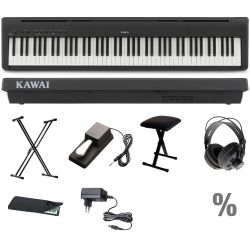 Kawai ES110 B Stage Piano X Set + KB + KS + SP + KA + KH + NT